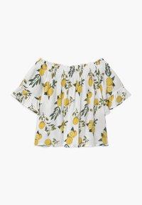 Blue Seven - TEEN GIRLS LEMON OFF SHOULDER - T-shirt con stampa - stroh - 1