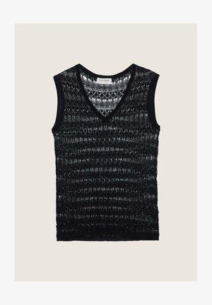 Top - schwarz  black