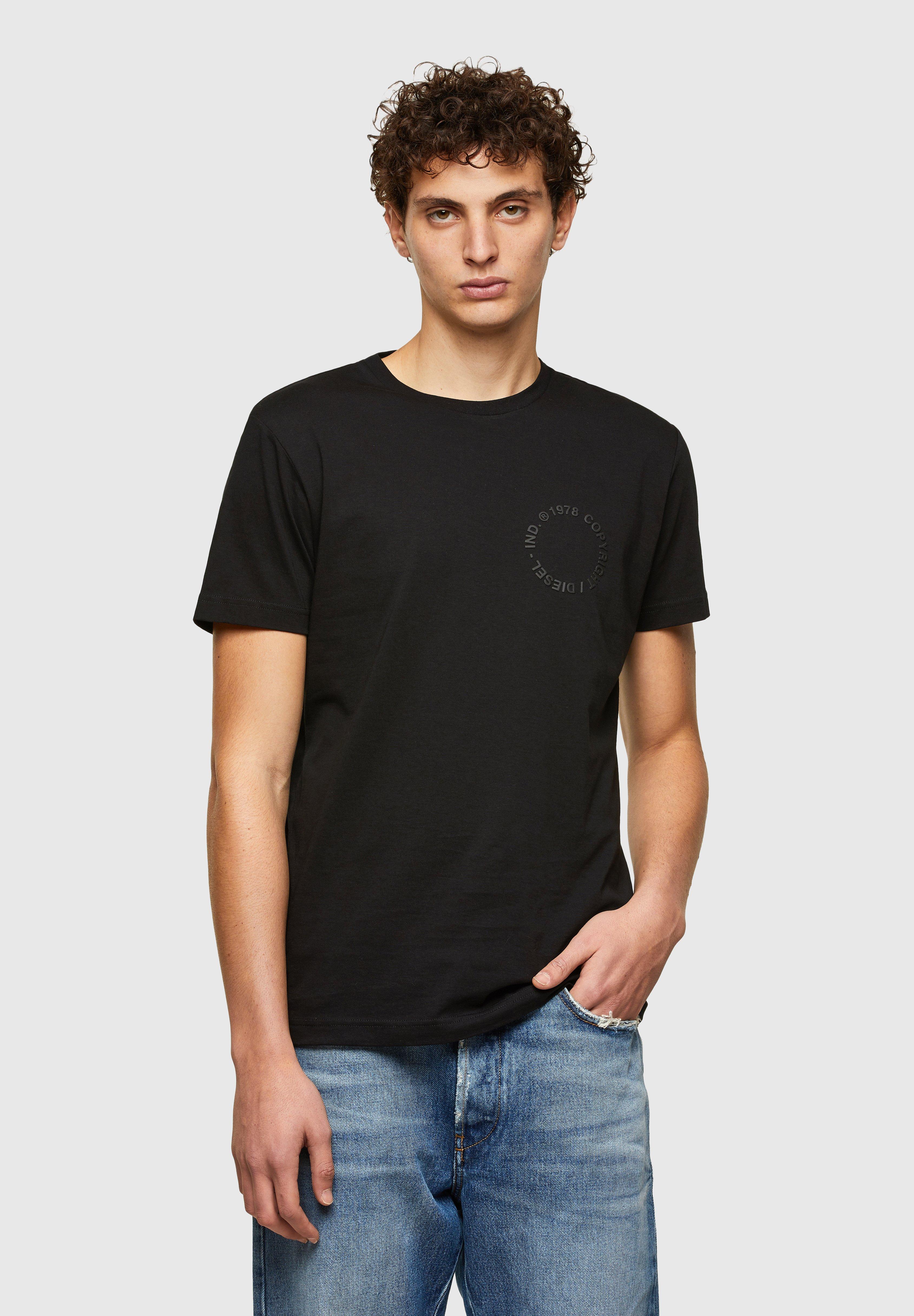 Homme T-DIEGOS-A4 - T-shirt imprimé