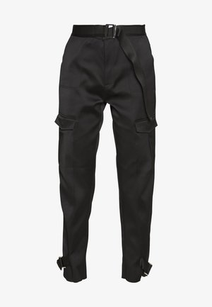 SKUNK - Cargo trousers - black