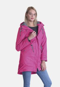 Dingy Rhythm Of The Rain - DINGY RHYTHM OF THE RAIN REGENMANTEL AMY - Parka - rose rot - 0