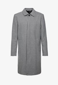 Topman - DOGTOOTH  - Cappotto classico - black/white - 3