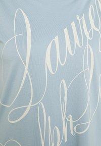 Lauren Ralph Lauren Woman - GRIETA  - Print T-shirt - dust blue - 2