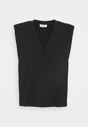 MAINTAIN - T-shirt print - black