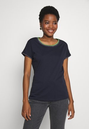 CORE - Print T-shirt - navy