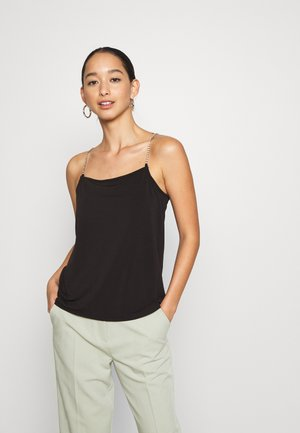 VMBLAIR SIMILI SINGLET - Top - black