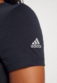 adidas Performance - Print T-shirt - legend ink/white - 4
