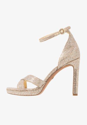 ALEXIA  - High heeled sandals - sand