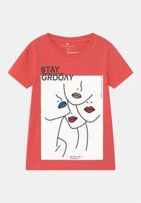 Name it - NKFBANIN - T-shirts print - rose of sharon - 0