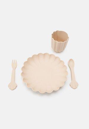 FLORA DINNER UNISEX - Kinderservies  - blush