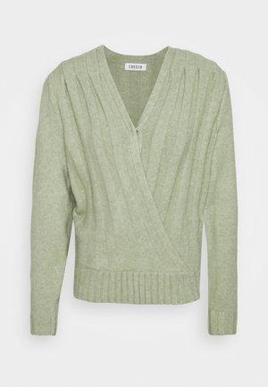 ENIE JUMPER - Pullover - grün