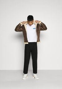 Only & Sons - ONSBEN AVIATOR - Faux leather jacket - chicory coffee - 1