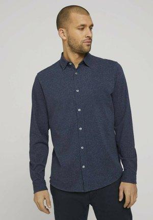 Overhemd - navy melange