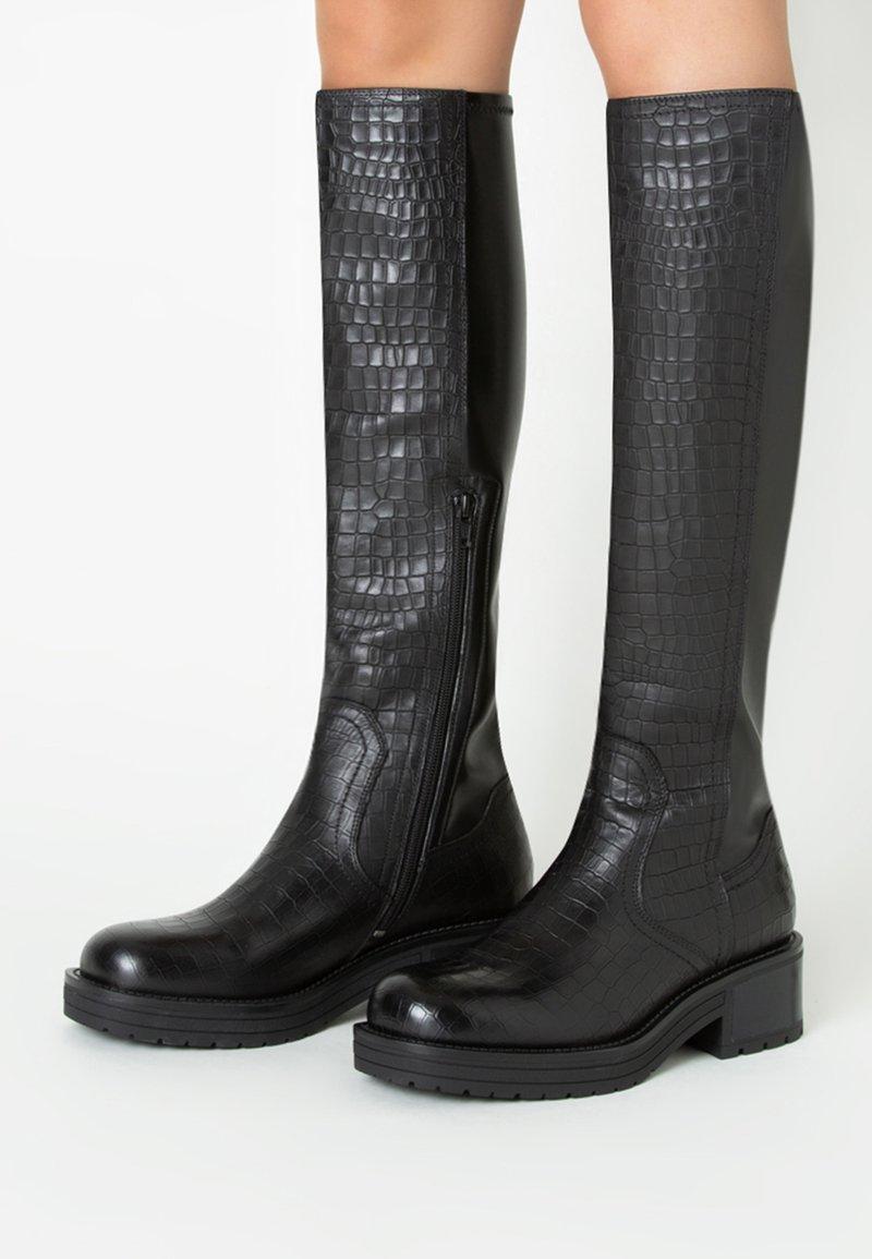 TJ Collection - Laarzen - black