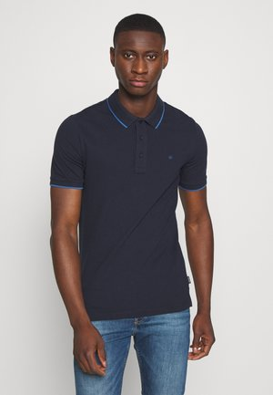 TIPPING SLIM - Koszulka polo - blue