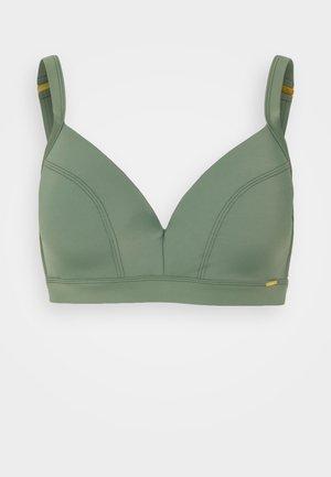 PW PANAMA E-CUP - Bikini top - green