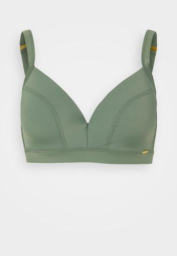 PW PANAMA E-CUP - Bikiniöverdel - green