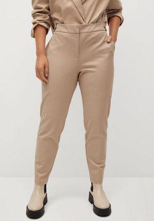 JOSE7 - Trousers - beige