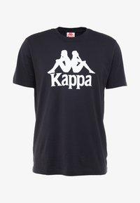 Kappa - CASPAR - T-shirt con stampa - caviar - 3