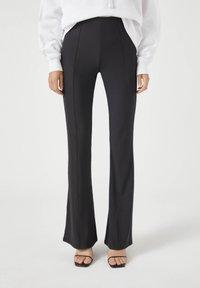 PULL&BEAR - Kalhoty - black - 0
