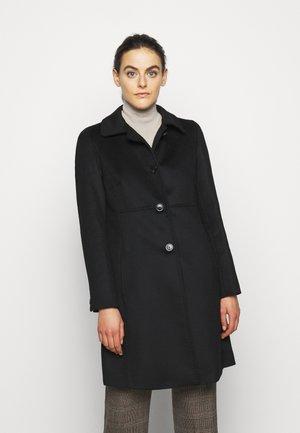 FAVILLA - Klasický kabát - black