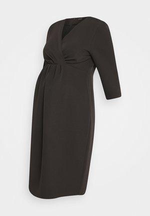 AROMA - Jersey dress - black