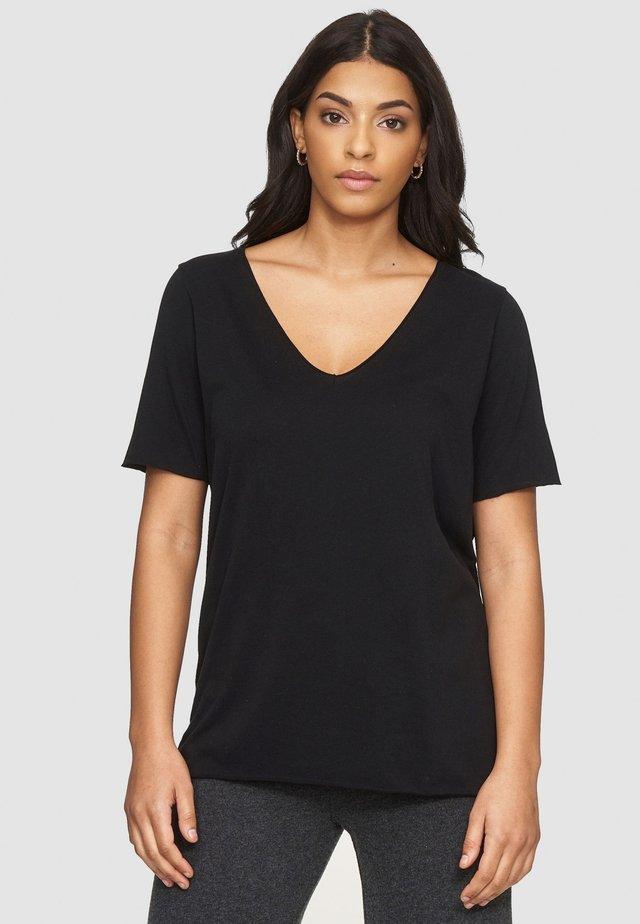 NIVIA - Basic T-shirt - noir