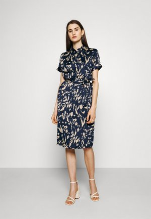 VMHAILEY DRESS - Blousejurk - navy blazer