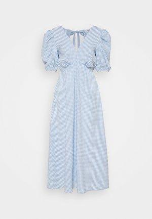 ONLJOHANNA V NECK DRESS - Vestido informal - blue