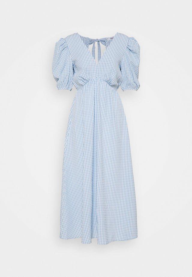 ONLJOHANNA V NECK DRESS - Kjole - blue