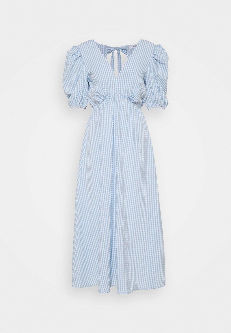 ONLY Tall - ONLJOHANNA V NECK DRESS - Kjole - blue