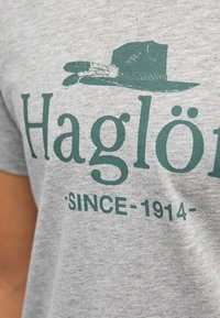 Haglöfs - CAMP TEE - Print T-shirt - grey