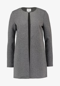 Vila - VINAJA NEW LONG JACKET - Veste légère - medium grey melange - 4