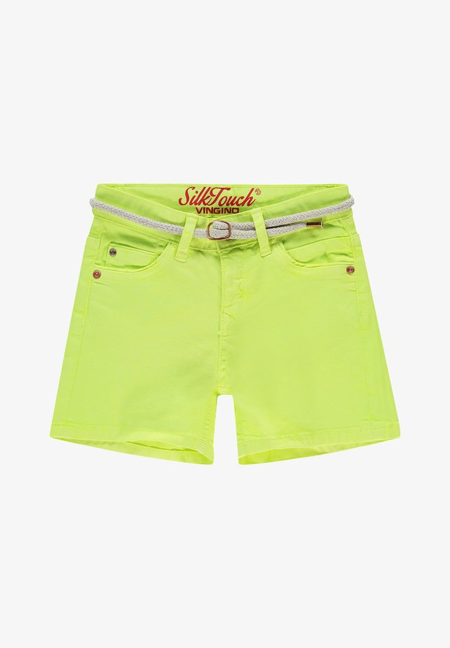 Short en jean - light neon yellow