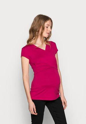 FIONA - Camiseta estampada - raspberry