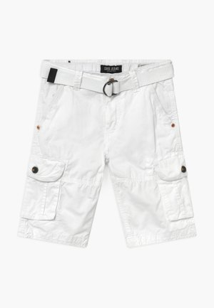 KIDS DURRAS - Cargo trousers - white