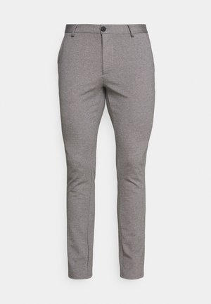 PANTS - Trousers - pewter