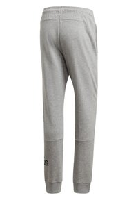 adidas Performance - BADGE OF SPORT FRENCH TERRY JOGGERS - Tracksuit bottoms - grey - 8