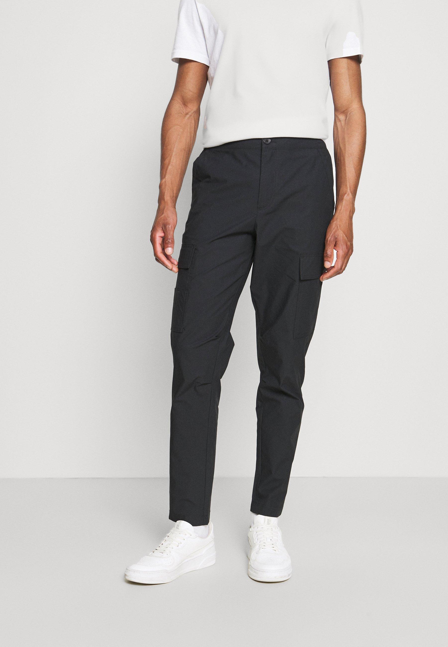Men SLHSLIMTAPERED JEROME PANTS - Cargo trousers