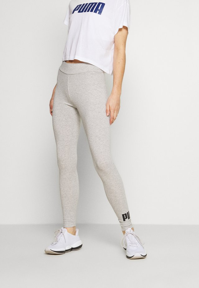ESS LOGO LEGGINGS - Leggings - light gray heather