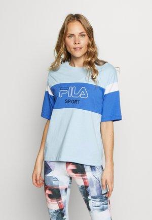 LALETTE TEE - Camiseta estampada - ceruleran/dazzling blue/bright white