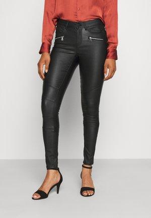 ONLANNE MID COATED - Kalhoty - black