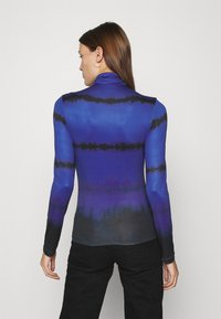 Who What Wear - RUCHED TURTLENECK - Long sleeved top - blue - 2