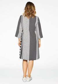 Yoek - Day dress - black/white - 2