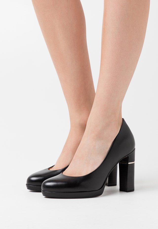 COURT SHOE - High heels - black