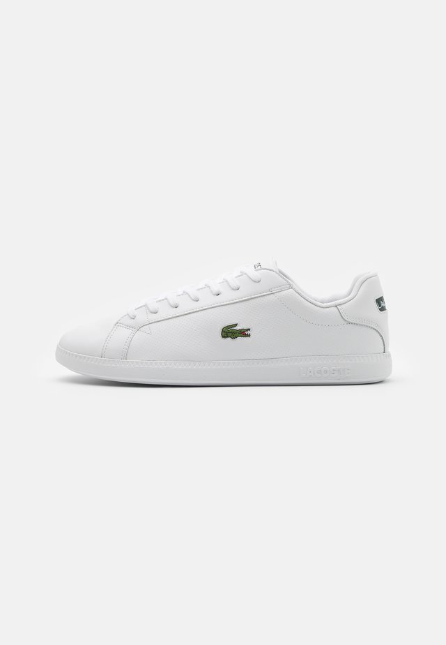 GRADUATE - Sneakers laag - white/dark green