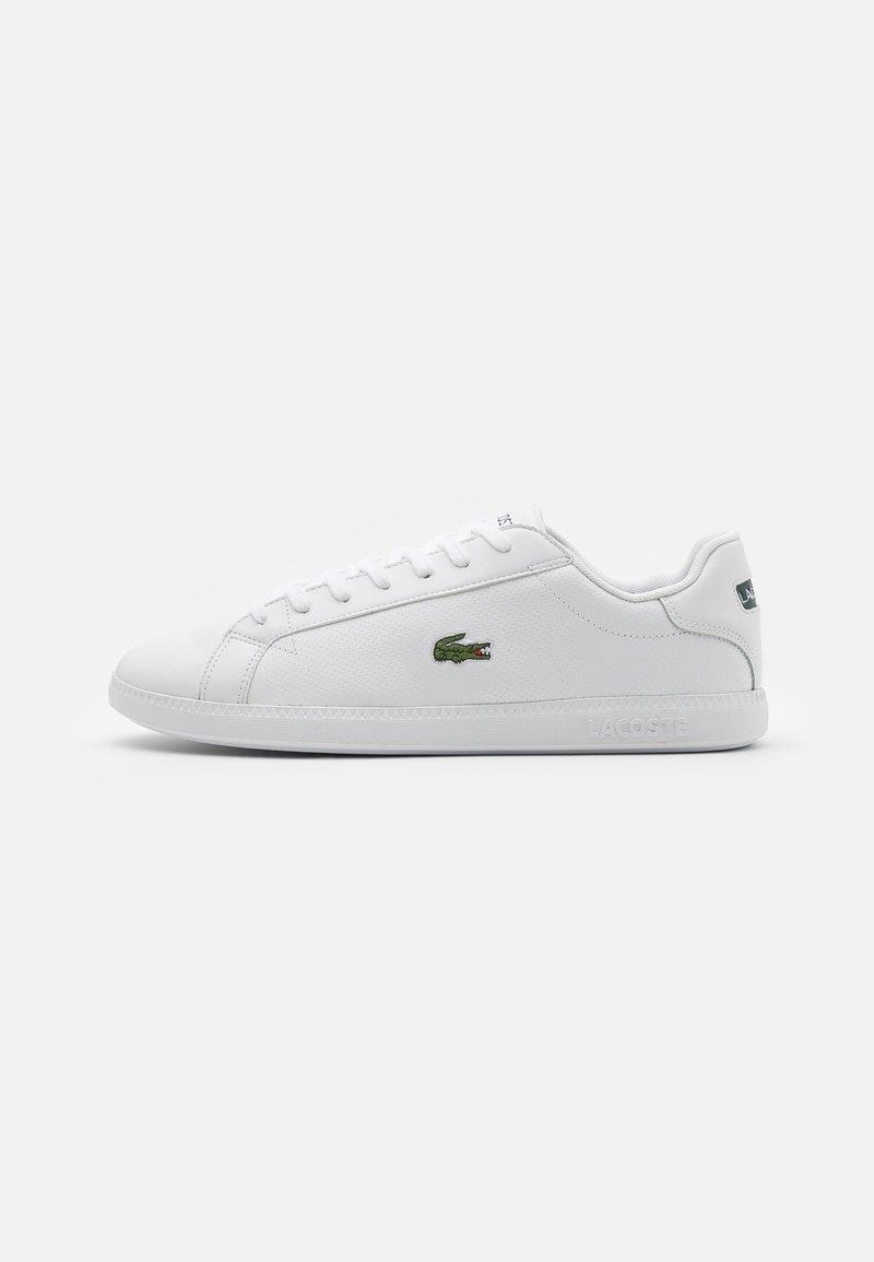 Lacoste - GRADUATE - Sneakers - white/dark green