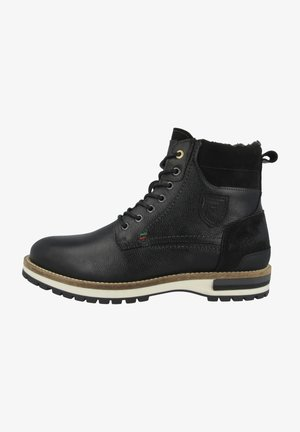 PONTIDA UOMO HIGH - Lace-up ankle boots - black