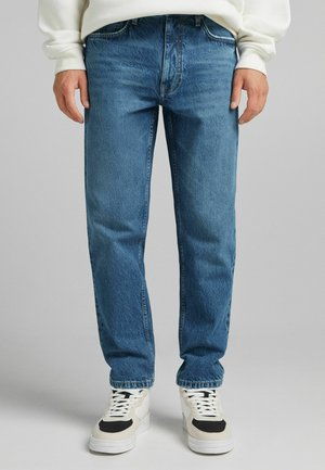 STRAIGHT VINTAGE - Jeans Relaxed Fit - dark blue