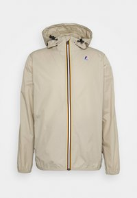 K-Way - LE VRAI CLAUDE UNISEX - Waterproof jacket - beige - 0